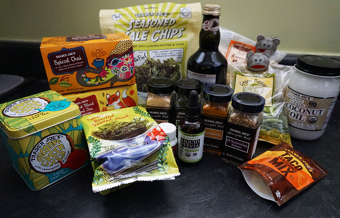Trader Joe's haul: some of my favorite re-buys