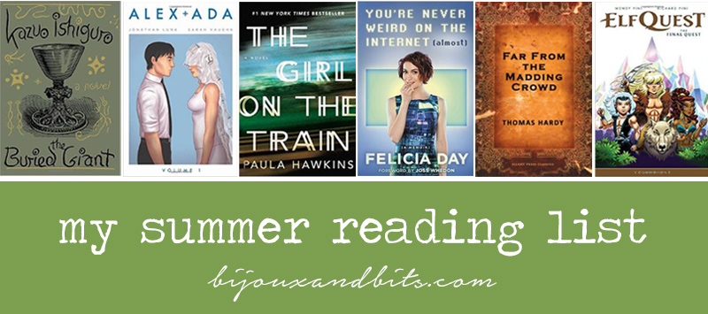 My summer reading list for 2015