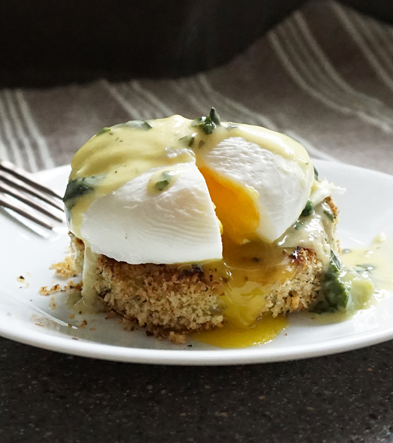 Dixie Kitchen-style Eggs Sardou recipe from @bijouxandbits