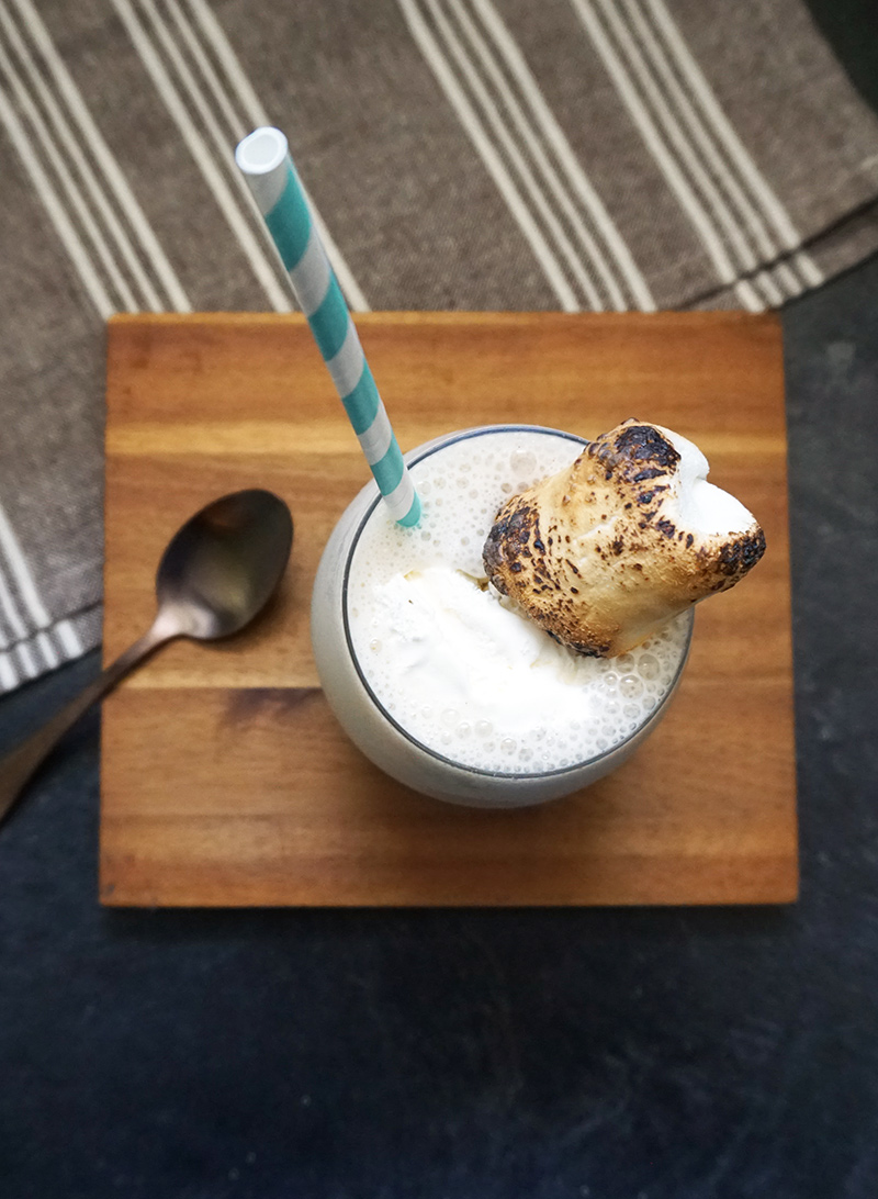 Toasted Marshmallow Cookies And Cream Milkshake Recipes — Dishmaps