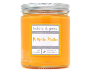 Pumpkin pasty candle