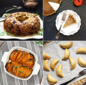 Thanksgiving menu from @bijouxandbits
