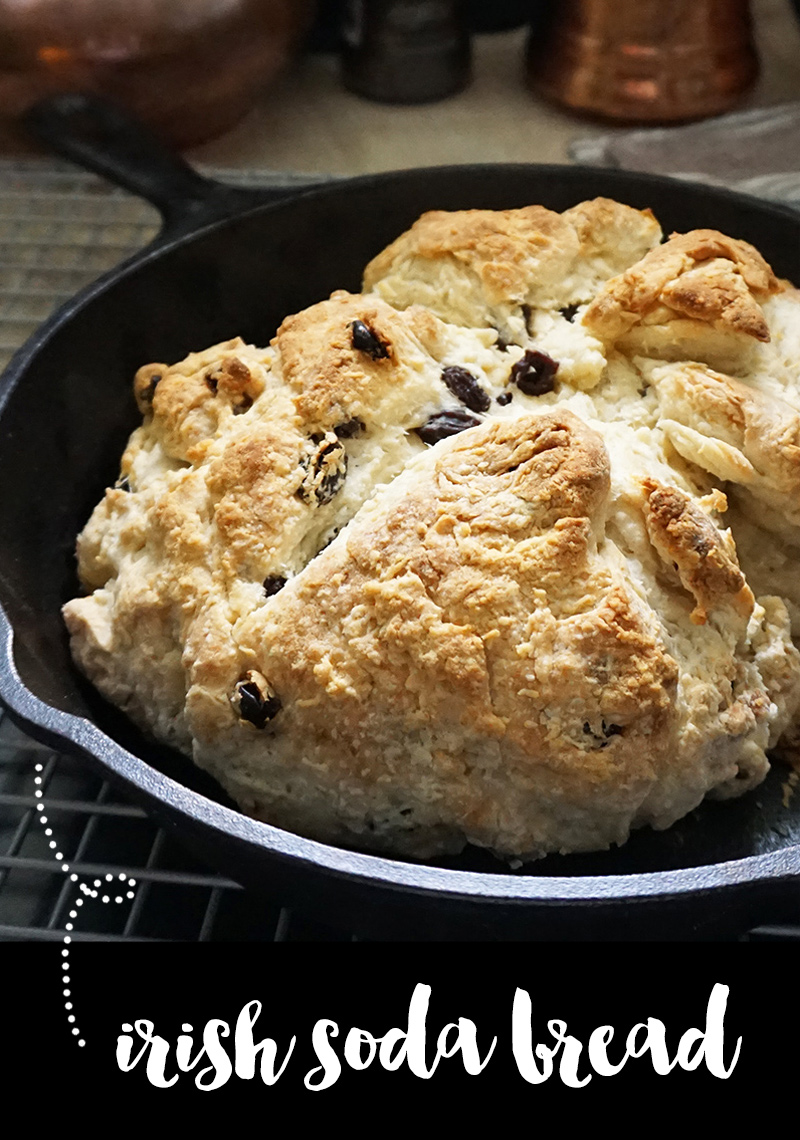 Irish soda bread recipe from @bijouxandbits #irish #sodabread #stpatricksday