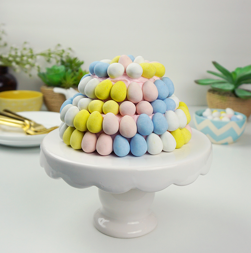 Candy Easter egg cake