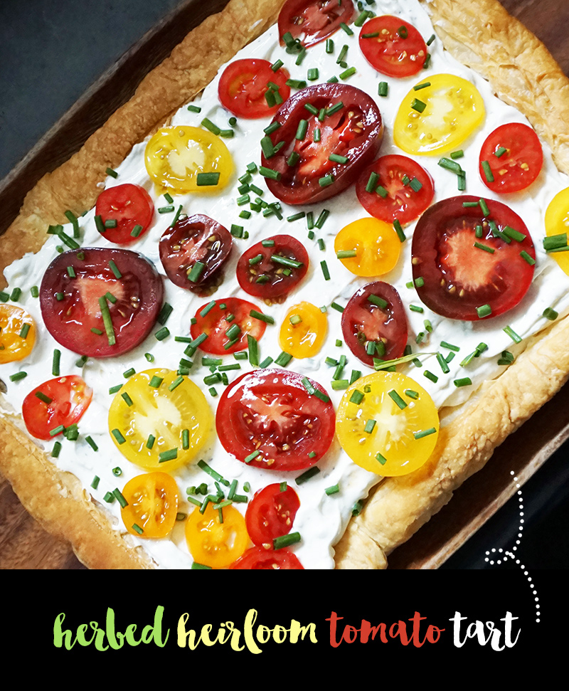 Food Network Tomato Tart Recipe