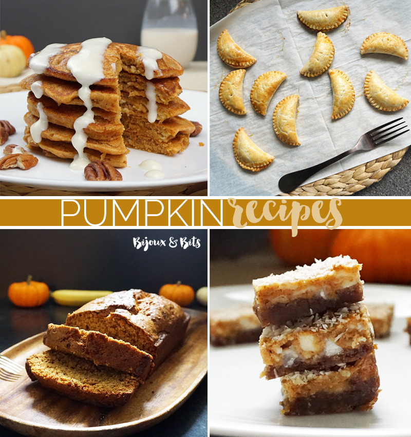 Pumpkin recipes for all your fall shindigs