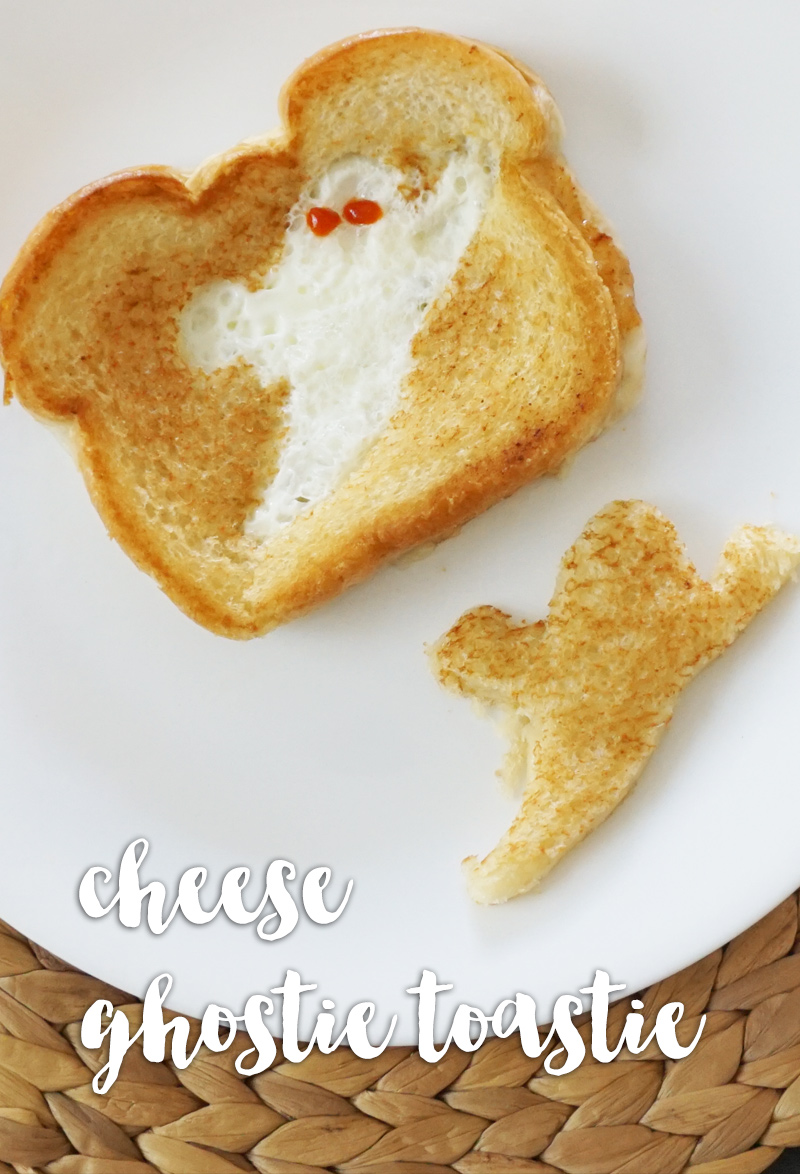 Cheese ghostie toastie from @bijouxandbits