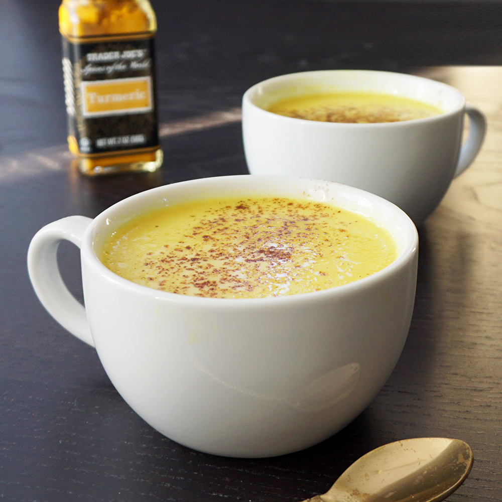 Golden Milk recipe (anti-inflammatory turmeric tea)