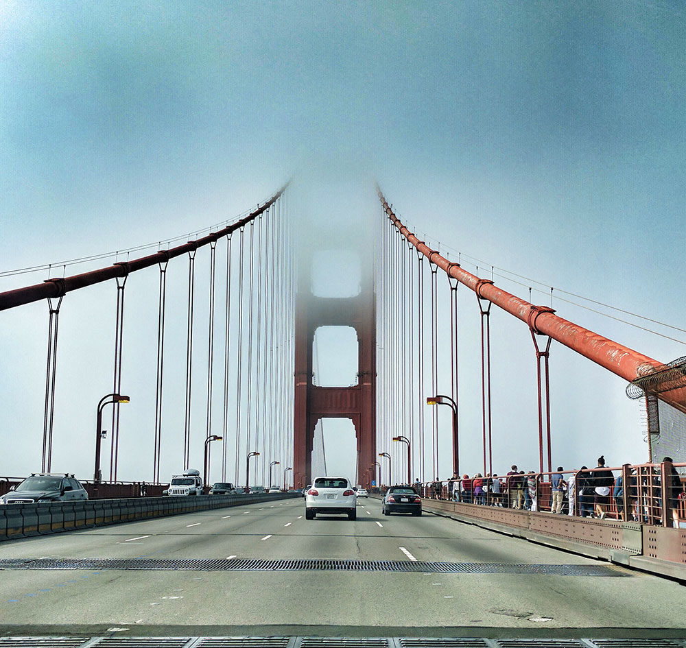 Traveling in San Francisco