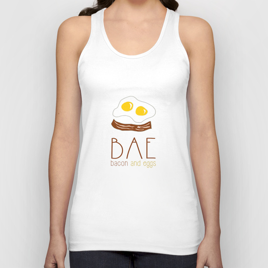 Bacon and eggs bae tank