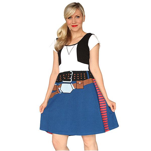 Han Solo Cosplay Dress