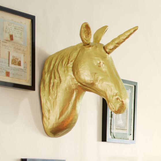 Unicorn wall mount