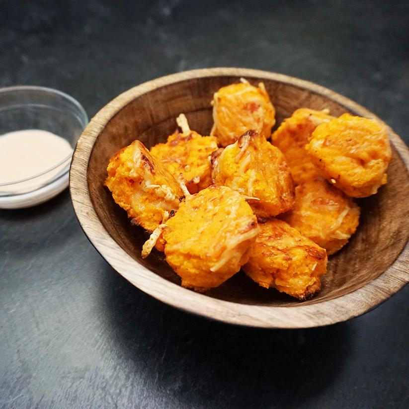 Sweet potato tater tots recipe