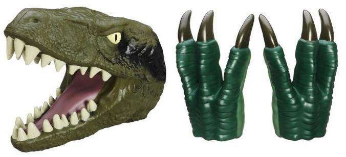 Jurassic World raptor costume