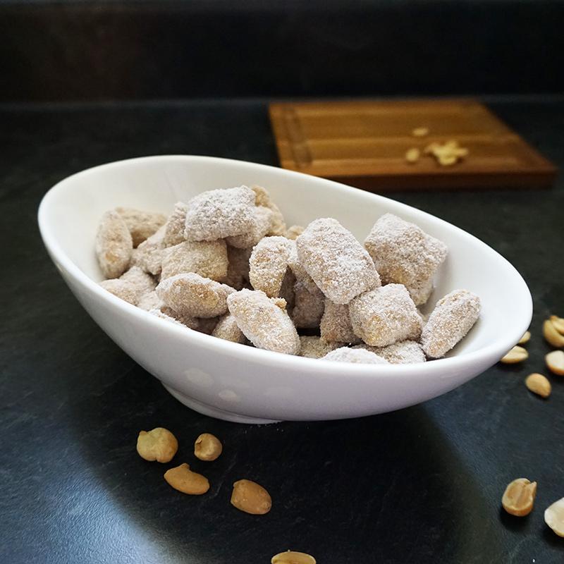 Healthier peanut butter puppy chow