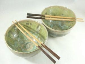 Chop stick noodle bowl