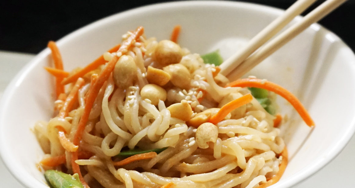 Peanut Sesame Shirataki Noodles Bijoux Bits