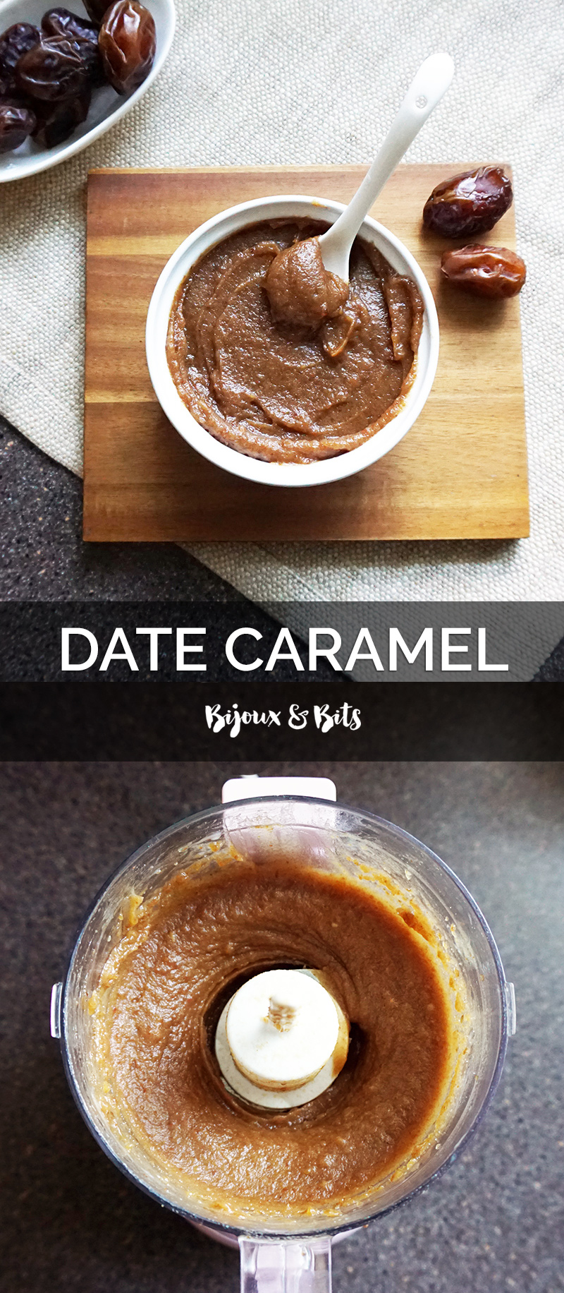 Salted date caramel recipe from @bijouxandbits