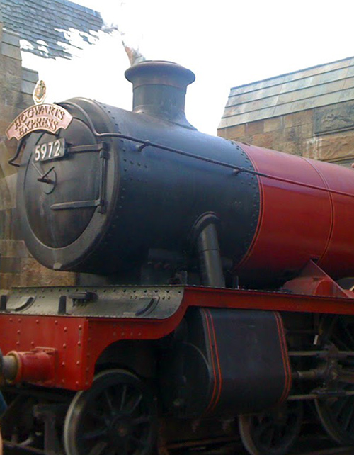 Hogwarts Express at Wizarding World of Harry Potter on @bijouxandbits