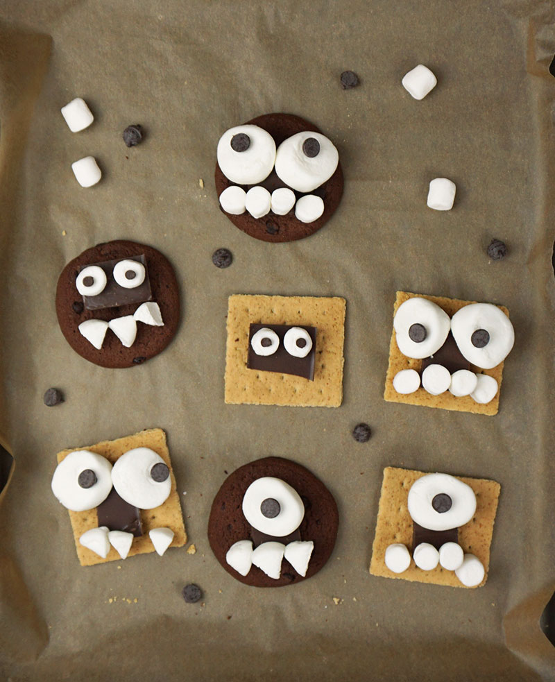 Monster s'mores recipe from @bijouxandbits