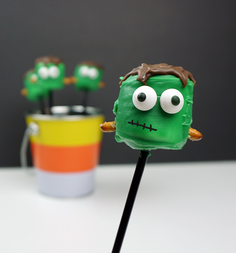 Frankenstein's monster pops
