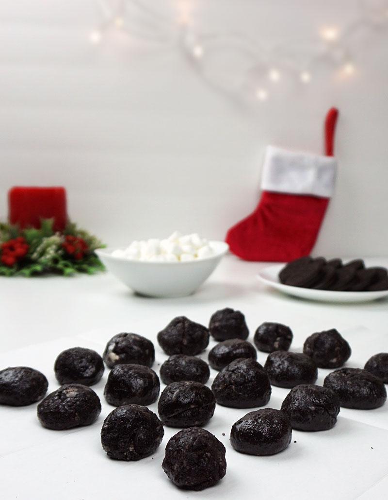 Cookies And Cream No Bake Lumps Of Coal