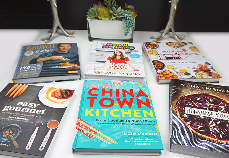 My gifted cookbooks of 2015