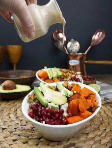 Vegan buddha bowl recipe from @bijouxandbits