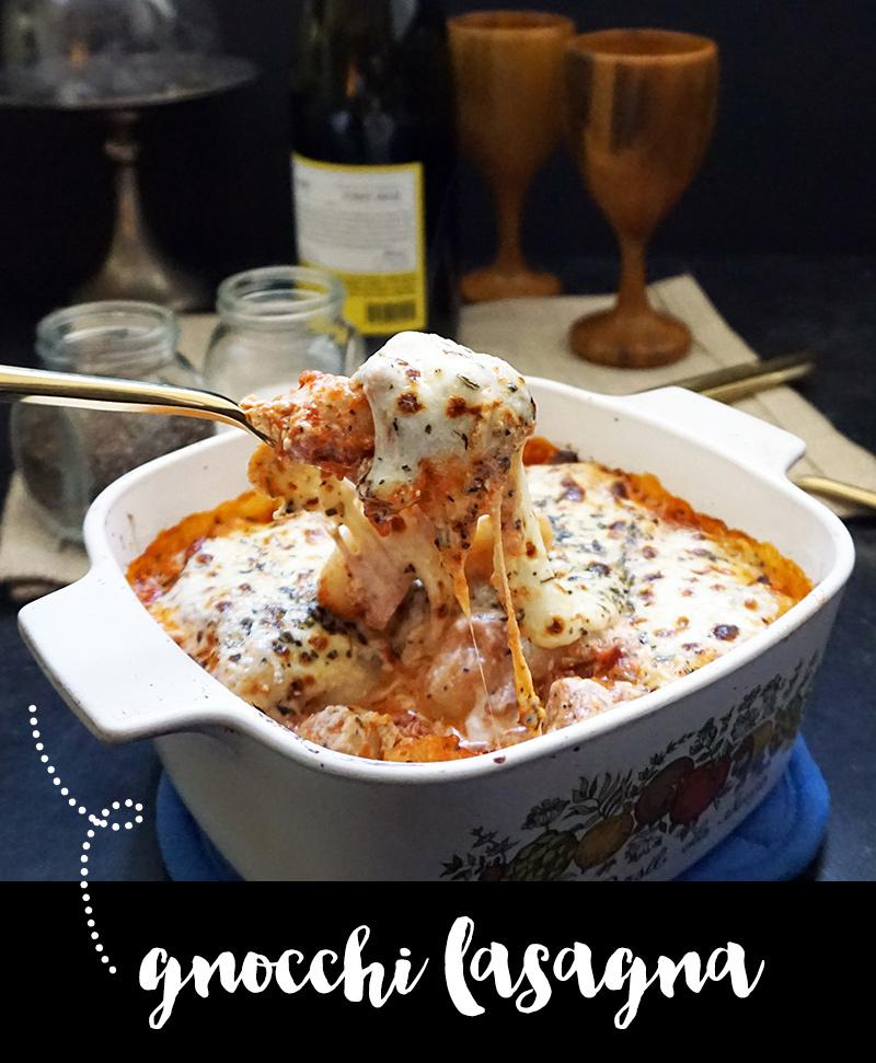Gnocchi lasagna from @bijouxandbits #gnocchi #lasagna