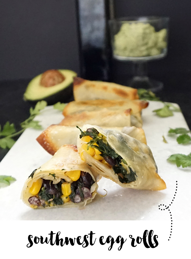 Southwest egg rolls from @bijouxandbits #eggrolls #recipe #southwestrecipes