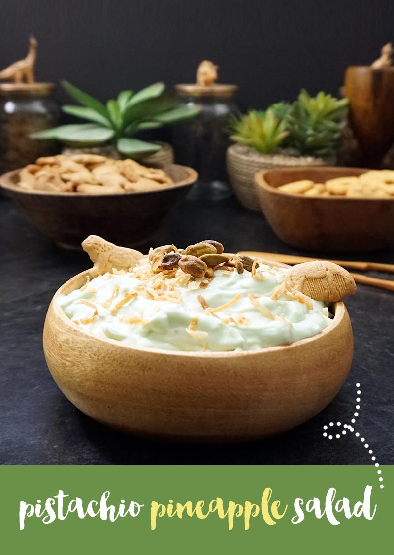 Pistachio pineapple salad (aka Watergate salad) from @bijouxandbits #watergate #salad #dessert