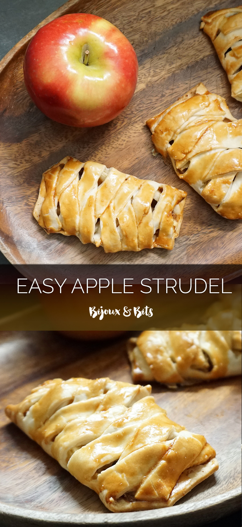 Easy apple strudel (Conjured mana strudel for Warcraft release!) from @bijouxandbits #warcraft #worldofwarcraft #applestrudel