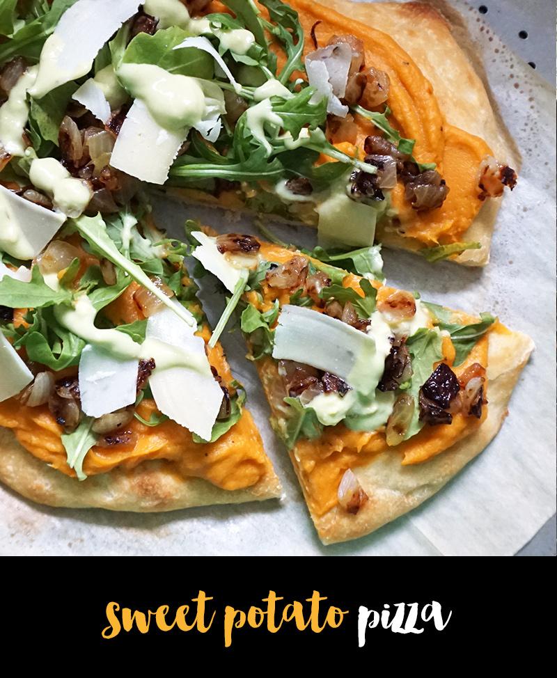 Sweet potato pizza from @bijouxandbits