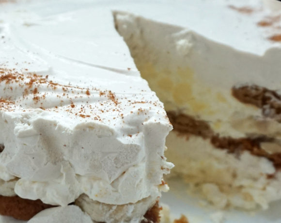 Banana ginger icebox cake