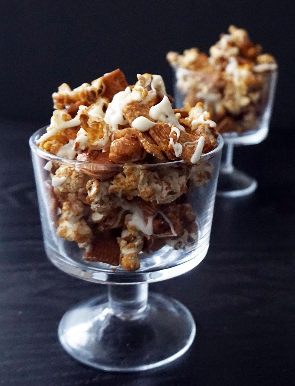 Cinnamon toast popcorn from @bijouxandbits
