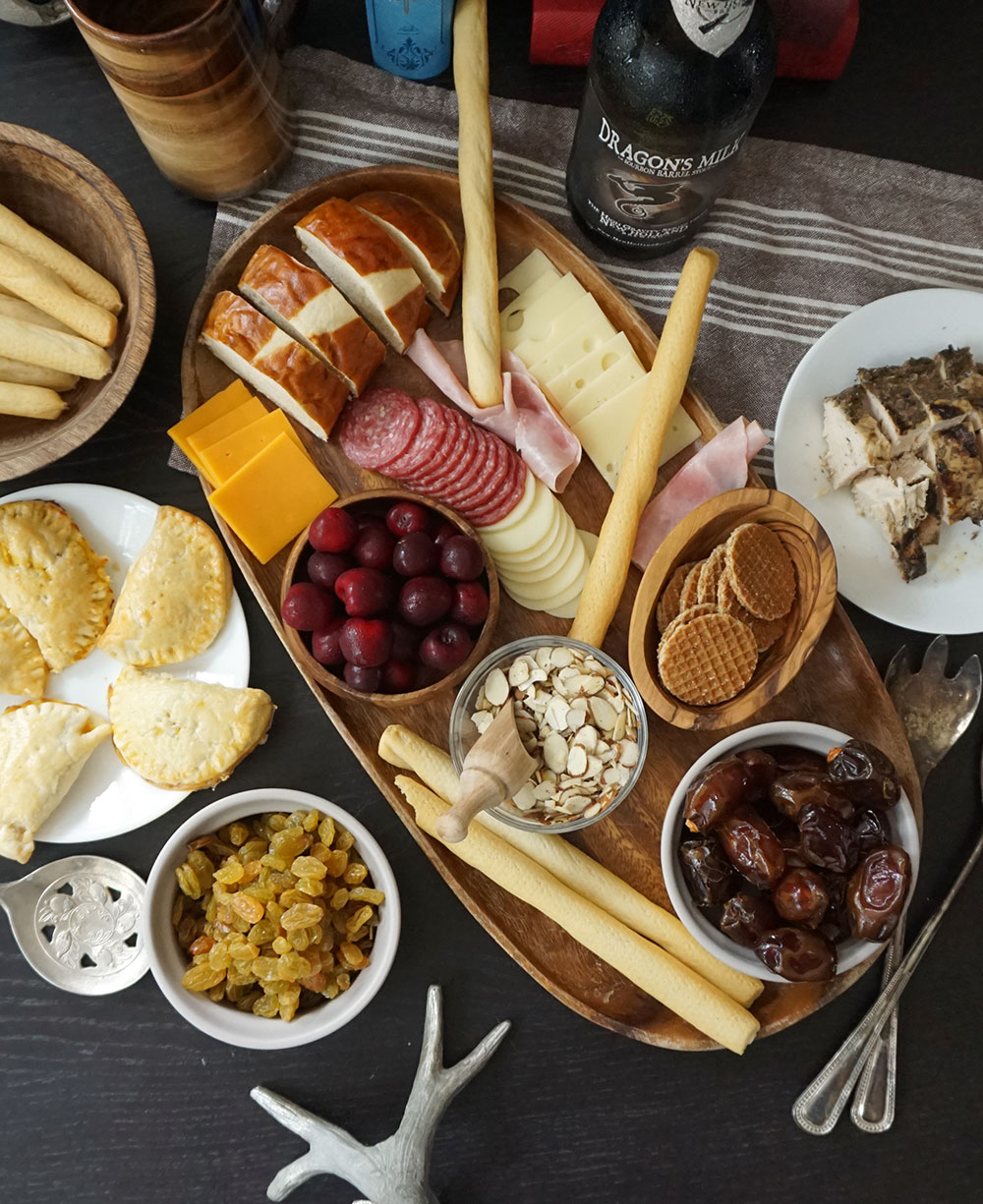 Game of Thrones menu -- Game of Thrones party from @bijouxandbits