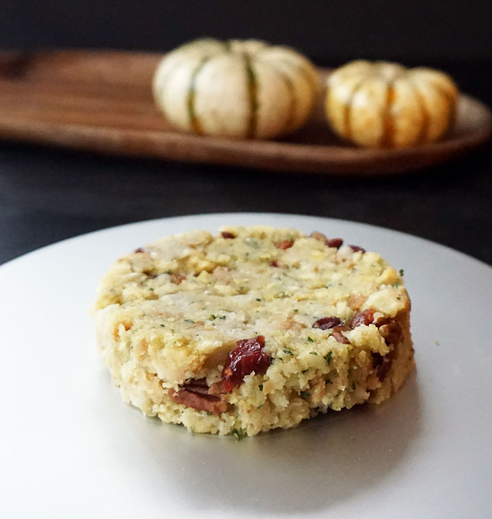 Leftover Thanksgiving sides savory cake