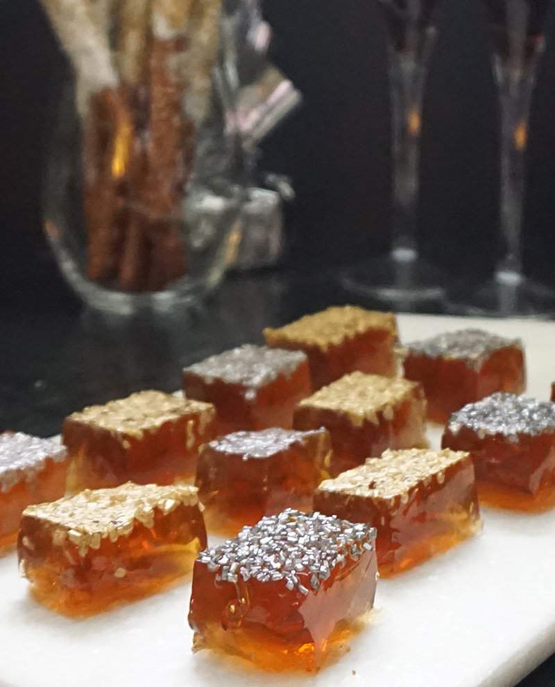 Champagne Jell-o shots recipe