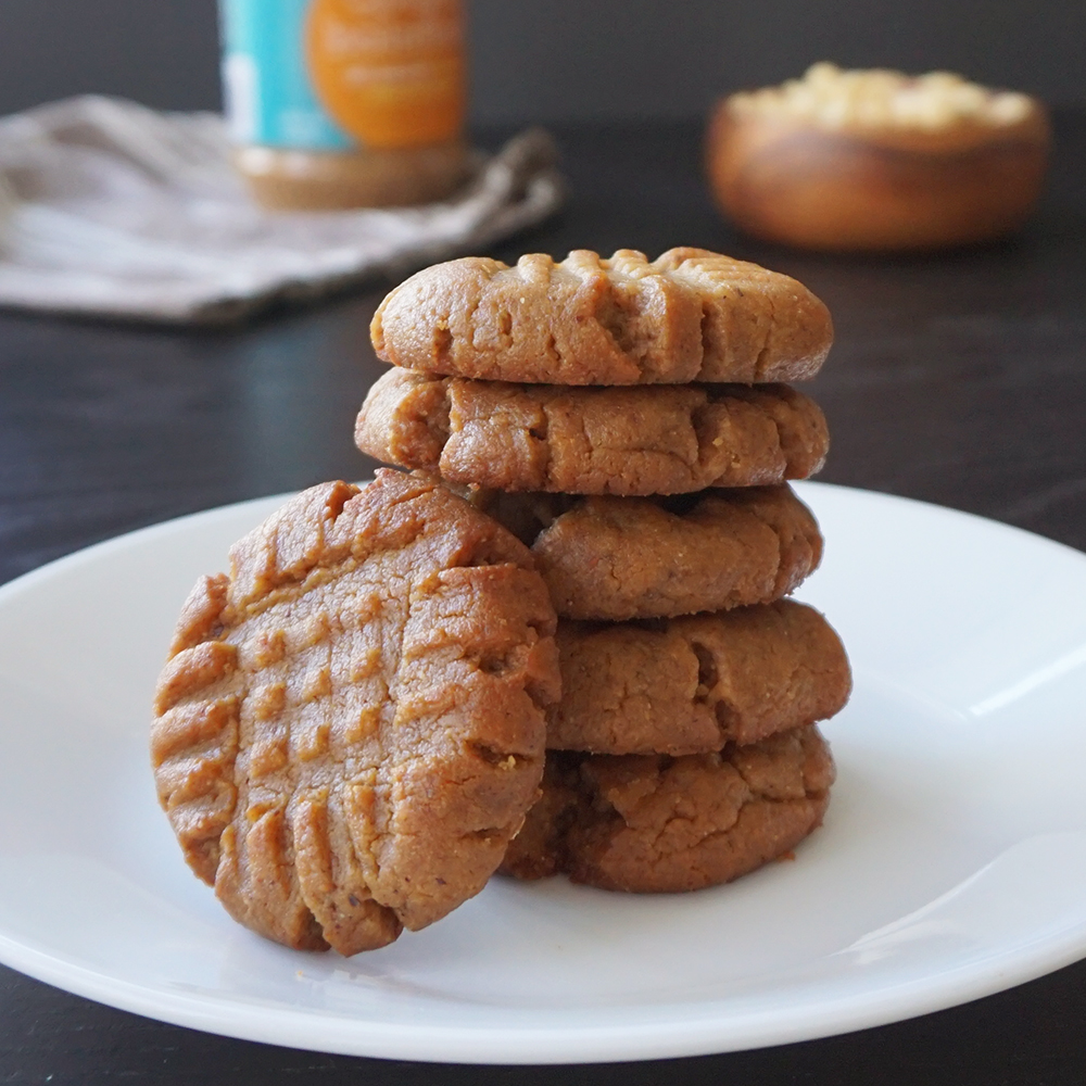 Easy low carb nut butter cookies