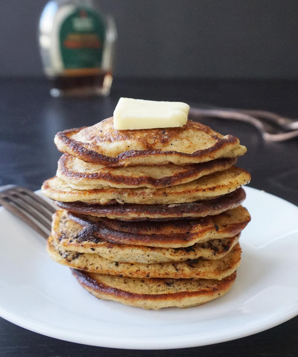 Vanilla ricotta pancakes (low carb)