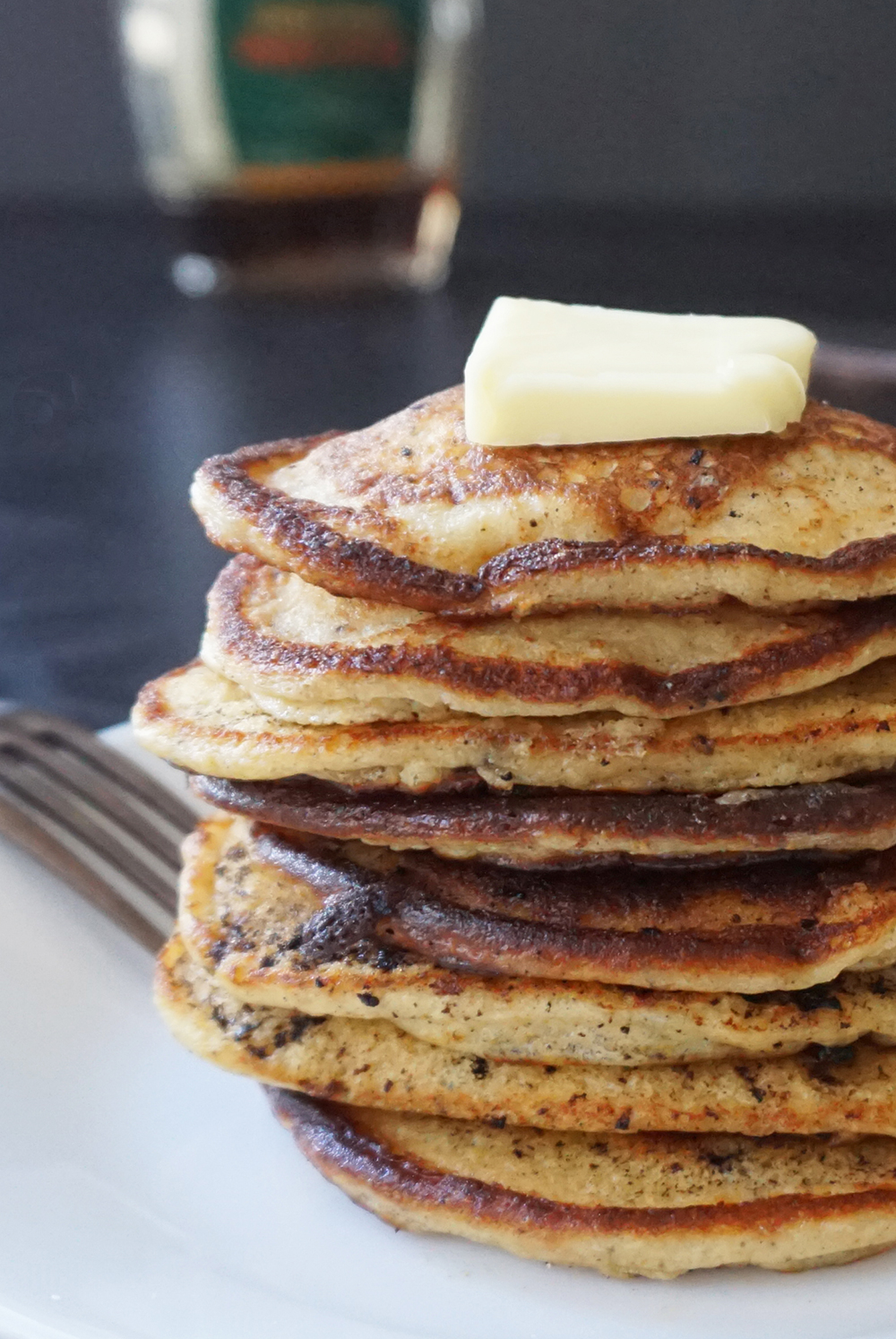 Low carb ricotta pancakes