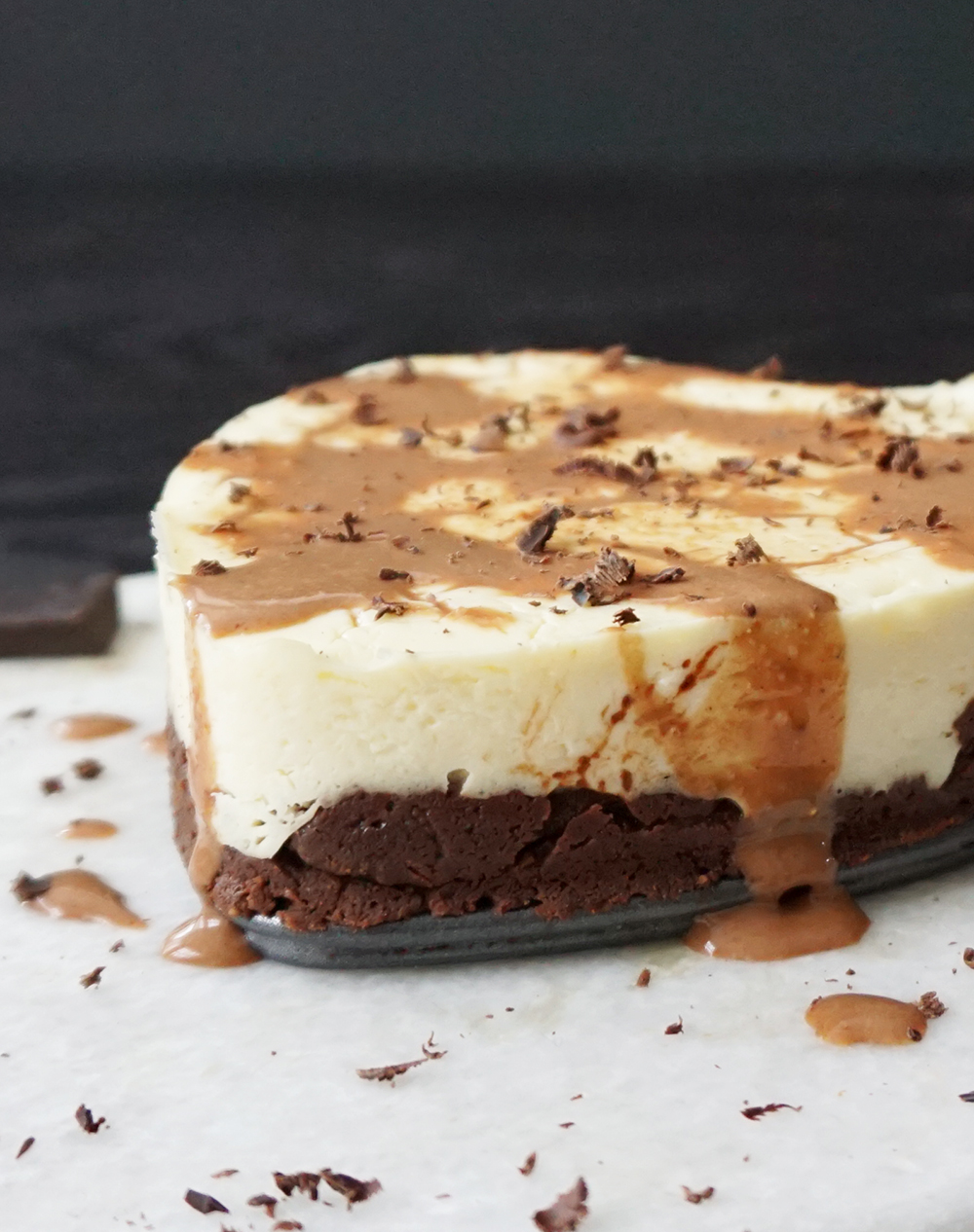 Peanut butter brownie cheesecake (low carb)