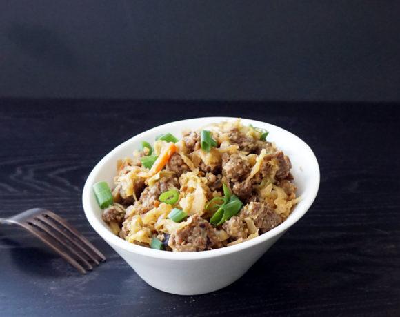Egg roll bowl (aka keto slaw)