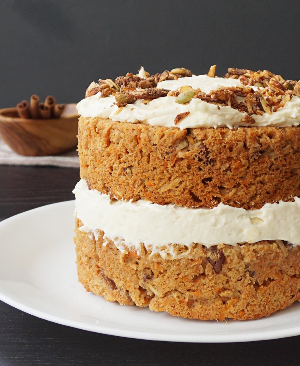 Incredible Grain Free Carrot Cake Keto Gluten Free Bijoux Bits Personalised Birthday Cards Bromeletsinfo